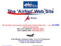 Détails : The 'AirNet' Web Site
