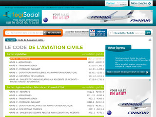 Détails : Code de l'aviation civile LEGISOCIAL