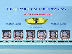 Détails : YOUR CAPTAIN SPEAKING