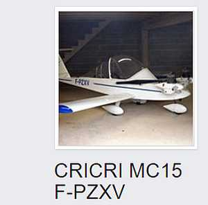 CRICRI MC15 F-PZXV