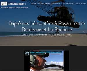 Bapteme helicoptere Royan 17