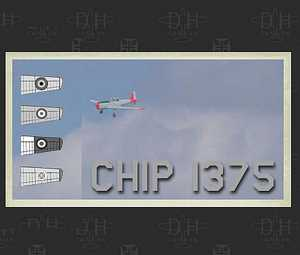 DHC 1 CHIPMUNK CHIP 1375