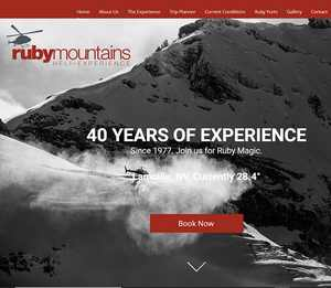 Détails : Ruby Mountain Helicopter Skiing