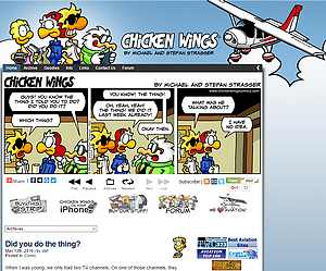 Détails : Chicken Wings Comics
