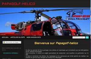 Détails : PAPAGOLF-HELICO